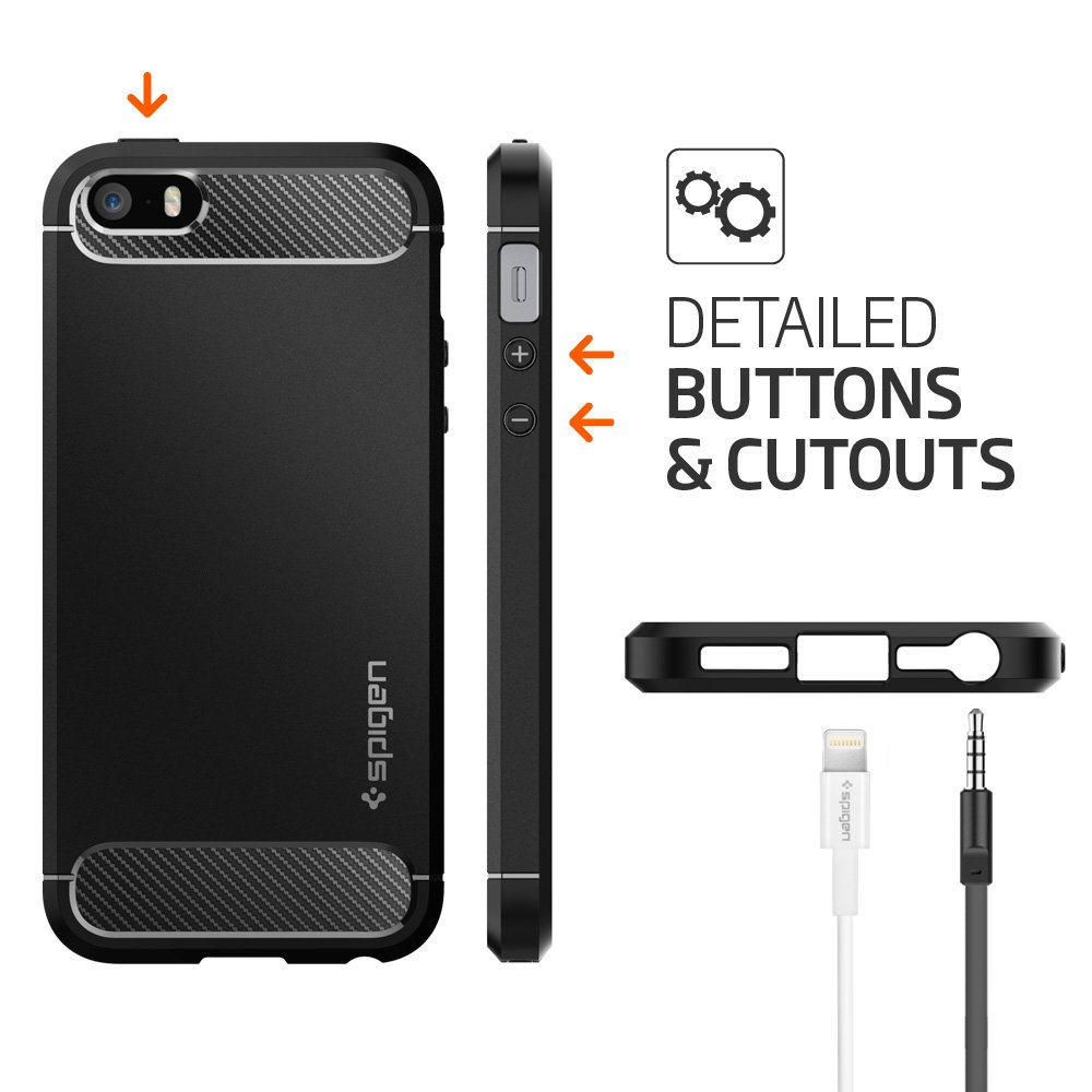 custodia iphone 5s spigen